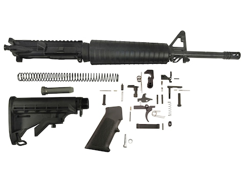 "Del-Ton AR-15 Mid-Length Carbine Kit  5.56x45mm NATO 1 in 9"" Twist 16"" Heavy Contour Ba..."