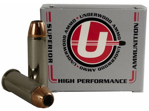 Underwood Ammunition 44 Remington Magnum 180 Grain Hornady XTP Jacketed Hollow Point Bo...