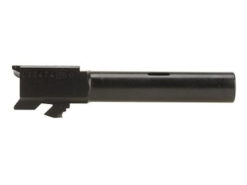 "Glock Barrel Glock 19C 9mm Luger 1 in 9.84"" Twist 4.02"" Carbon Steel Matte with Compens..."