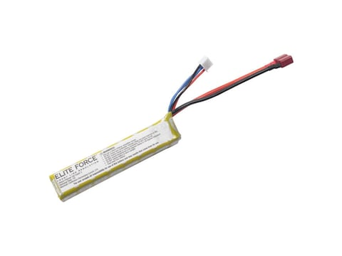 Elite Force 11.1V 900 MAH 15C Lithium Stick Battery with Deans Wired Female Connector