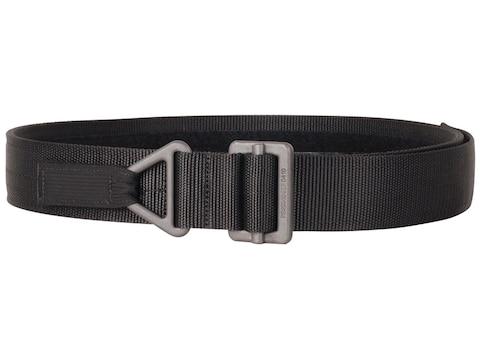 "BLACKHAWK! Instructor Gun Belt 1-3/4"" Black Steel Buckle Nylon Black"