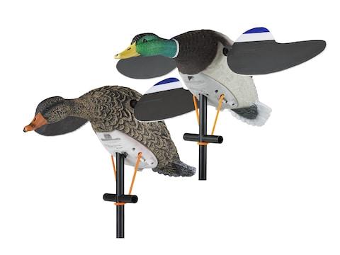 Lucky Duck Lucky Pair II Motion Duck Decoy Combo