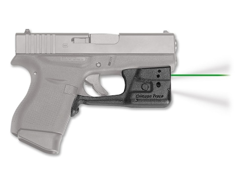 Crimson Trace Laserguard Pro Weapon Light White LED with Laser Sight Black