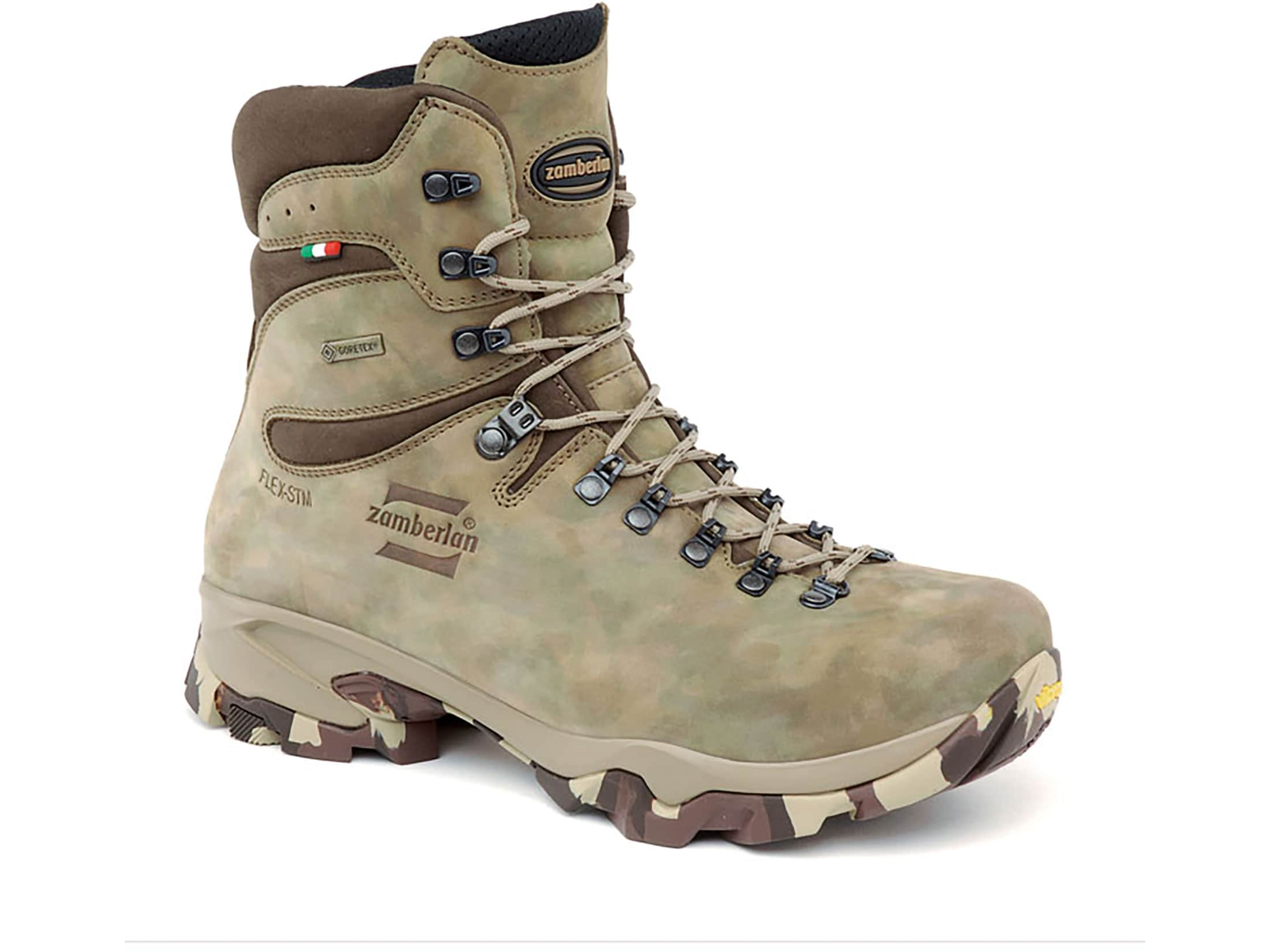 67c8d30c413 Zamberlan Lynx Mid GTX 9 GORE-TEX Hunting Boots Leather Camouflage