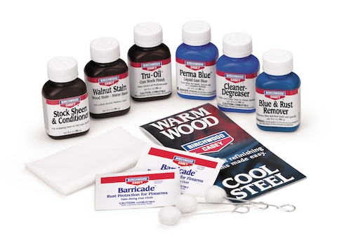 Birchwood Casey Deluxe Perma Blue and Tru-Oil Complete Finishing Kit