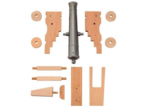 "Traditions Mini Old Ironsides Black Powder Cannon Kit 50 Caliber 9"" Steel Barrel Hardwo..."