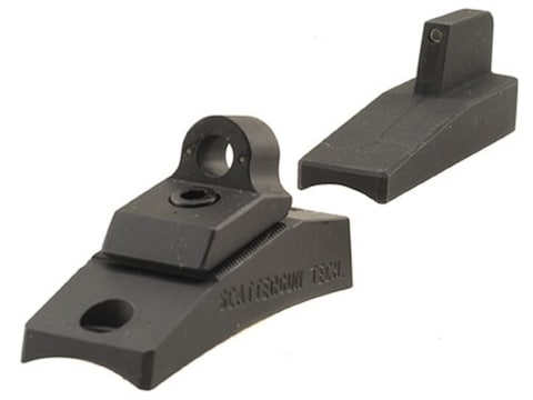 Scattergun Technologies Ghost Ring Sight Set with Tritium Inserts Front and Rear Reming...