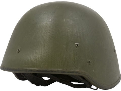 Military Surplus NATO (Polish) Kevlar Helmet Grade 2 Olive Drab