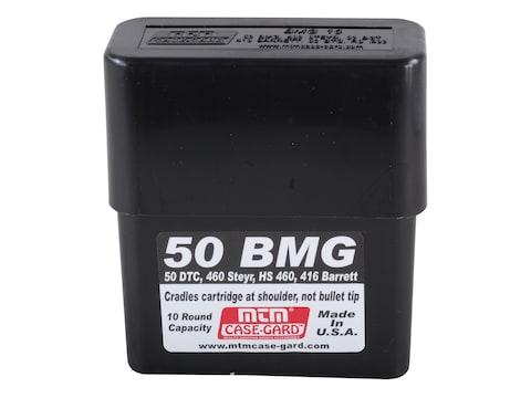 MTM Slip-Top Ammo Box 50 BMG 10-Round Plastic