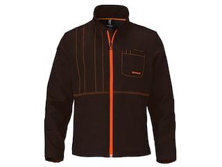 Browning Men's Upland Soft Shell Jacket Polyester Chocolate/Blaze 2XL