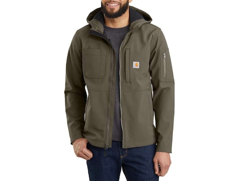 Carhartt Men's Rough Cut Hooded Jacket Nylon/Spandex