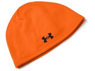 Under Armour Men's Outdoor Fleece Beanie Polyester Blaze Orange