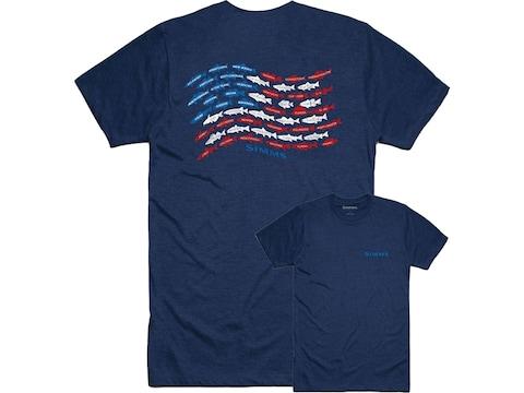 Simms Men's Upstream USA Short Sleeve T-Shirt