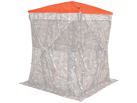 Ameristep Safety Ground Blind Cap fits Hub Blinds Polyester Blaze Orange