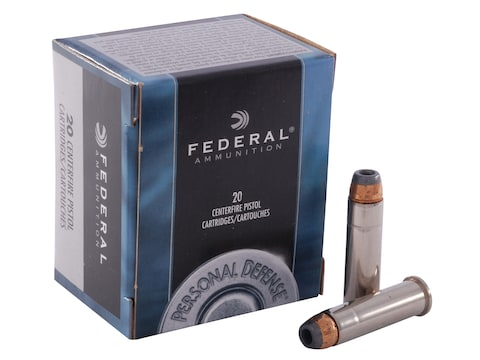 Federal Premium Personal Defense Ammunition 357 Magnum 125 Grain Jacketed Hollow Point