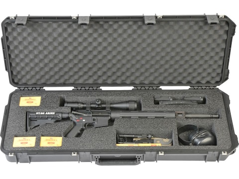 "SKB iSeries 3614 Scoped Large AR Rifle Case 42.5"" Polymer Black"