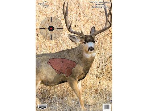 Birchwood Casey Pregame Mule Deer Target 16.5x24 Pack of 3