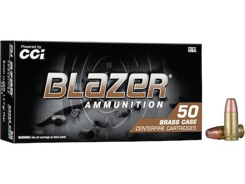 Blazer Brass Ammunition 9mm Luger 147 Grain Full Metal Jacket