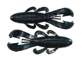 Googan Baits Bandito Bug Creature Black Blue Flake