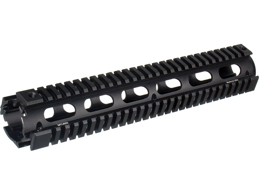 UTG Pro 2-Piece Handguard Quad Rail AR-15 Rifle Length Aluminum Matte