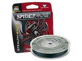 SpiderWire Stealth Braided Fishing Line 10lb 125yd Moss Green