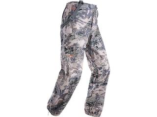 Sitka Gear Men's Cloudburst Waterproof Rain Pants Polyester Gore Optifade Open Country Camo XL