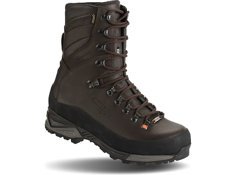 """Crispi Wild Rock Plus GTX 10"""" 800 Gram Insulated Hunting Boots Leather Brown Men's"""