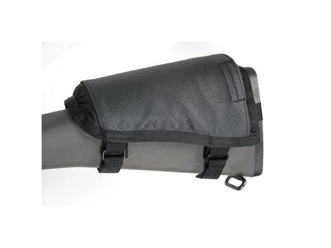 BLACKHAWK! Hawktex Tactical Ambidextrous Rifle Cheek Rest Fixed Stock Rifle Nylon Black