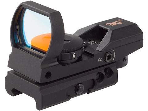 Browning Buckmark Red Dot Sight 4-Pattern Reticle (Circle-Dot-Cross, 3 MOA Dot, Cross-D...