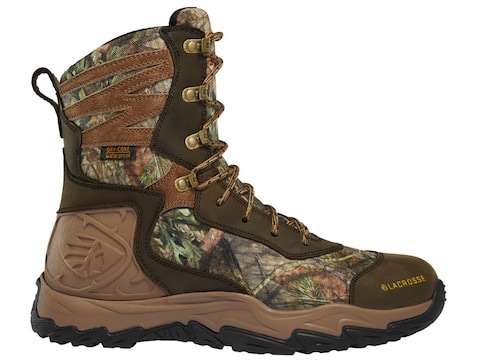 "LaCrosse Windrose 8"" Insulated Hunting Boots Leather Men's"