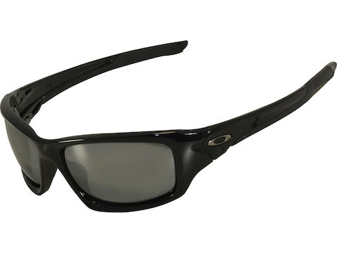 Oakley Valve Polarized Sunglasses Black Frame/Black Iridium Lens