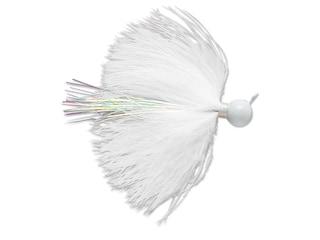 VMC Marabou Jig White 1/16 oz