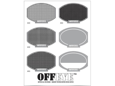 Birchwood Casey Off-Eye Optical Lens Filter Assorted Fit Kit