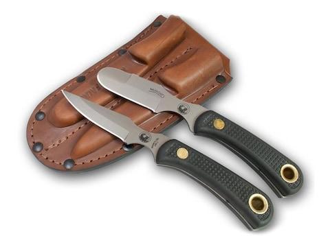 Knives of Alaska Muskrat/Cub Bear Combination Fixed Blade Knife Set D2 Tool Steel Blades