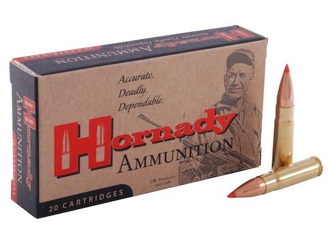 Hornady Custom Ammunition 300 AAC Blackout 135 Grain FTX Box of 20