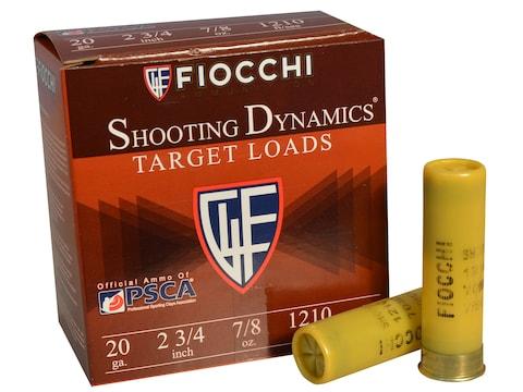 "Fiocchi Shooting Dynamics Ammunition 20 Gauge 2 3/4"" 7/8 oz #9 Shot"