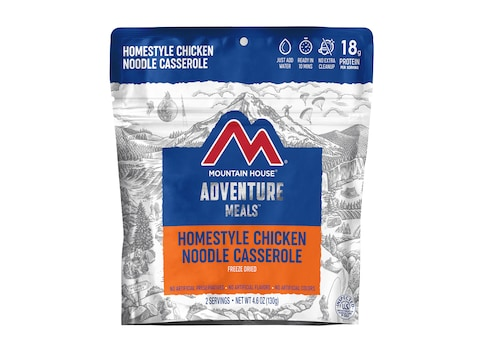 Mountain House Homestyle Chicken Noodle Casserole Freeze Dried Food 2 Serving