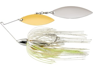 War Eagle Screamin Eagle Nickle Frame Double Willow Spinnerbait 3/4oz Blue Pearl Shad Gold/Silver