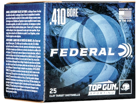 "Federal Top Gun Sporting Ammunition 410 Bore 2-1/2"" 1/2 oz #7-1/2 Shot"