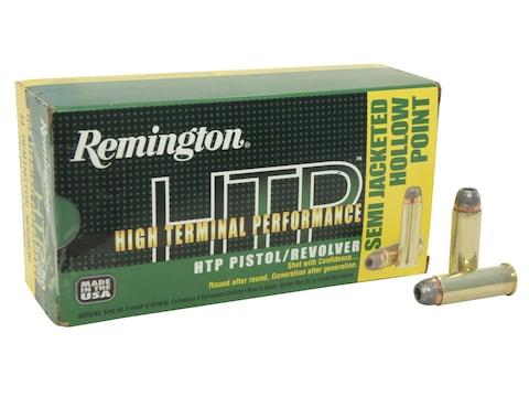 Remington High Terminal Performance (HTP) Ammunition 44 Remington Magnum 240 Grain Semi...