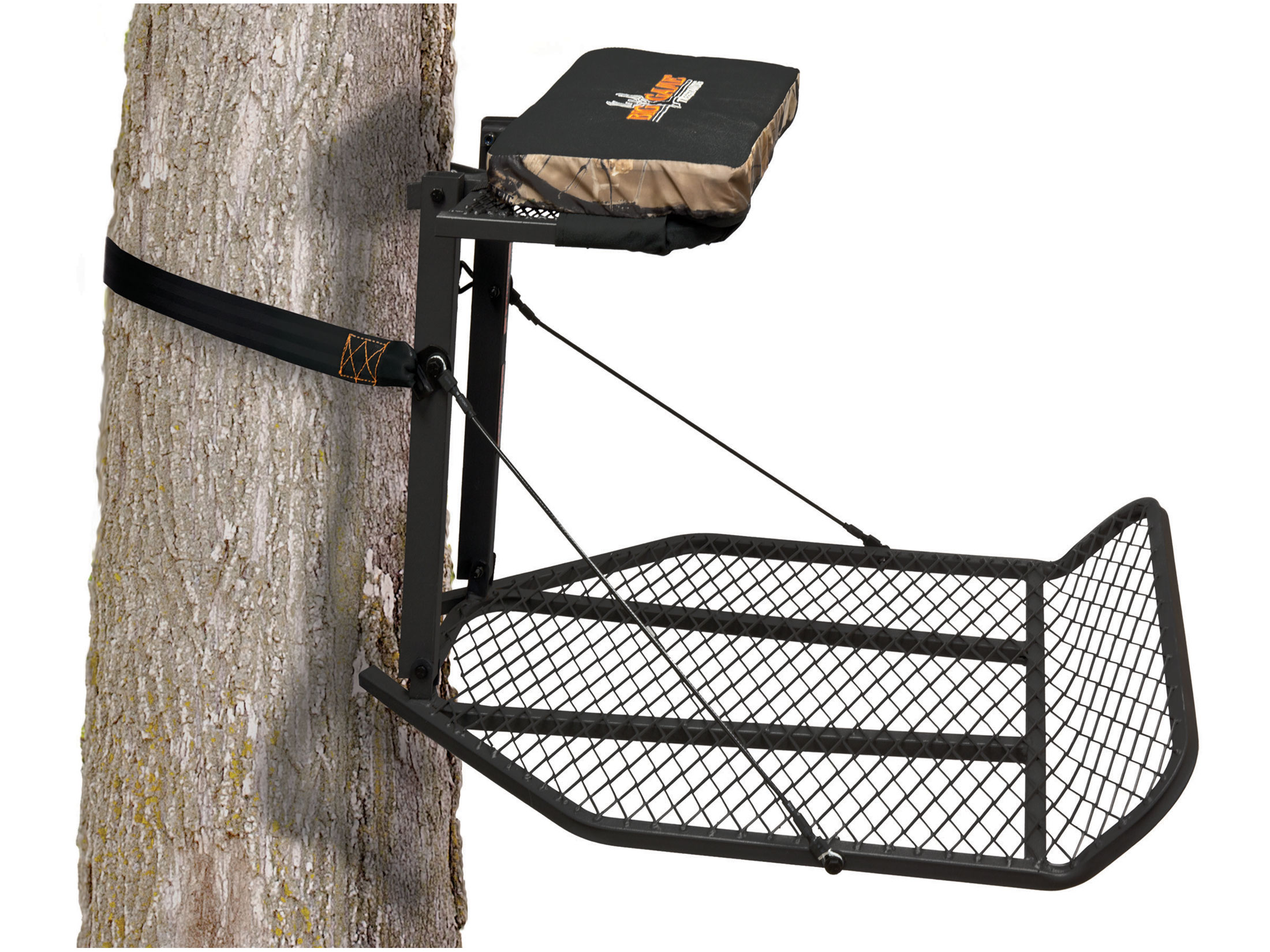 Big Game Treestands Boss Hang On Treestand | Tree stand ...