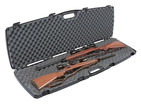 "Plano Gun Guard SE Double Scoped Rifle Case 51-3/4"" Polymer Black"