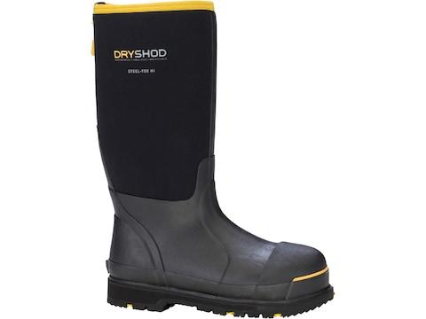 Dryshod Steel-Toe Hi Work Boots Rubber/Densoprene Men's
