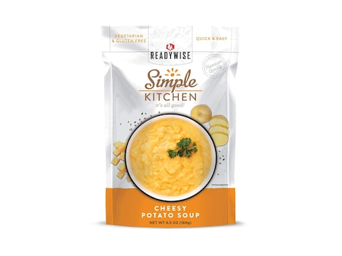 ReadyWise Simple Kitchen Cheesy Potato Soup Freeze Dried Food