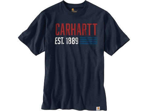 Carhartt Men's Heavyweight Made Graphic Short Sleeve Shirt