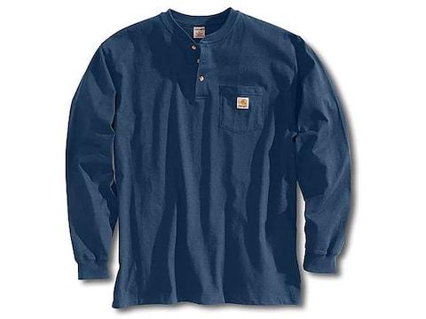 Carhartt Men's Workwear Pocket Henley Long Sleeve Cotton
