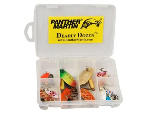 Panther Martin Deadly Dozen Spinner Kit Assorted 1/32-1/2 oz 12PK