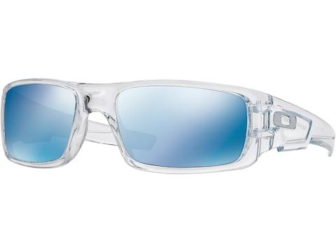 Oakley Crankshaft Sunglasses Polished Clear Frame/Ice Iridium Lens