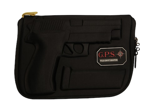 G.P.S. Custom Molded Pistol Case Sig Sauer P226, P228, P220, P229, SP2022 Black