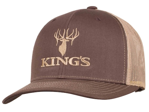 King's Camo Men's Logo Snapback Hat Cotton